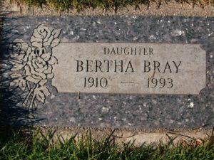 Bertha Bray Gravsted
