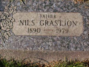 Nils Grastjøn Gravsted